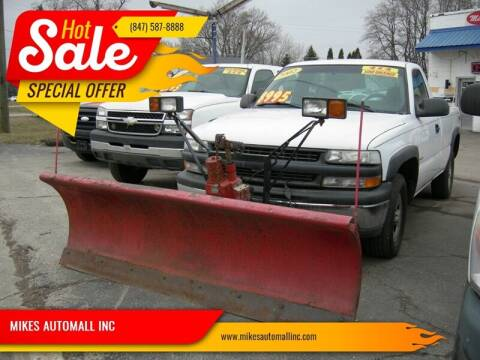 2002 Chevrolet Silverado 1500 for sale at MIKES AUTOMALL INC in Ingleside IL