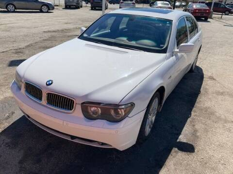 2002 BMW 7 Series for sale at Town & City Motors Inc. in Gary IN