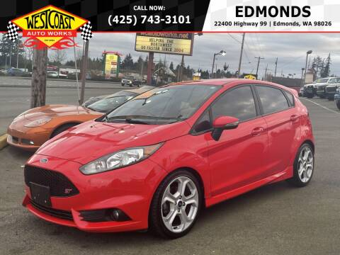 2014 Ford Fiesta for sale at West Coast Auto Works in Edmonds WA