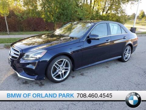 2014 Mercedes-Benz E-Class for sale at BMW OF ORLAND PARK in Orland Park IL