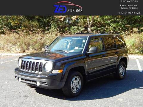 2011 Jeep Patriot for sale at Zed Motors in Raleigh NC