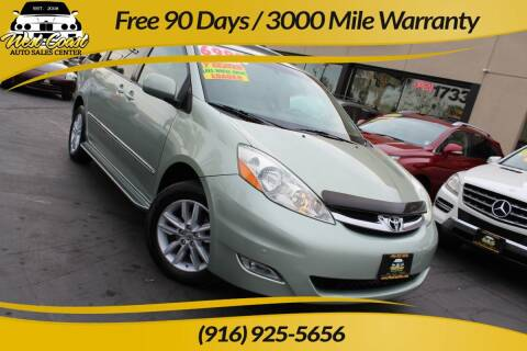 2006 Toyota Sienna for sale at West Coast Auto Sales Center in Sacramento CA