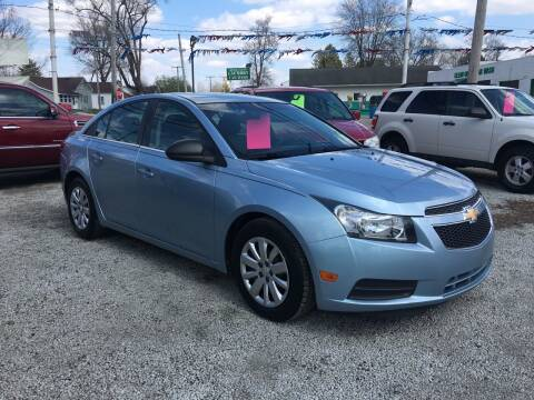 2011 Chevrolet Cruze for sale at Antique Motors in Plymouth IN