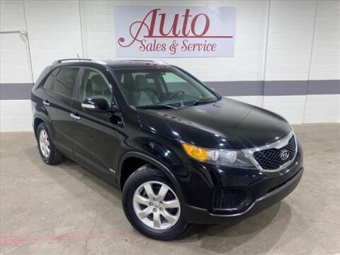 2012 Kia Sorento for sale at Auto Sales & Service Wholesale in Indianapolis IN