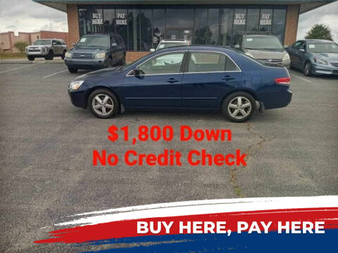 2004 Honda Accord for sale at BP Auto Finders in Durham NC