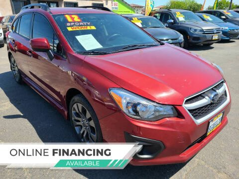 2012 Subaru Impreza for sale at Super Cars Sales Inc #1 in Oakdale CA