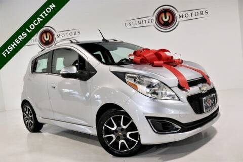 2014 Chevrolet Spark for sale at Unlimited Motors in Fishers IN