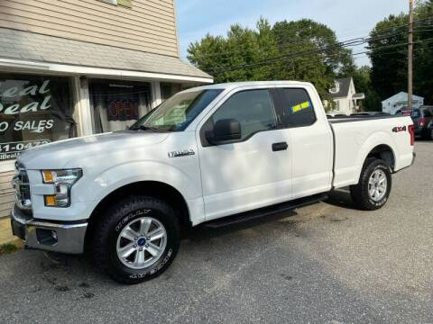 2016 Ford F-150 for sale at Real Deal Auto Sales in Auburn ME