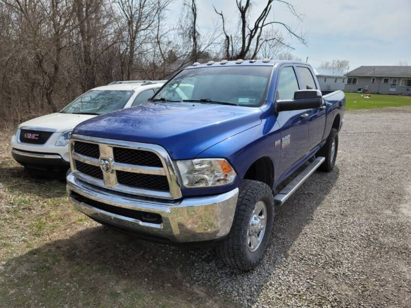 2016 RAM Ram Pickup 2500 for sale at Clare Auto Sales, Inc. in Clare MI
