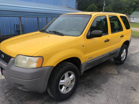 2001 Ford Escape for sale at Mac's Auto Sales in Camden SC