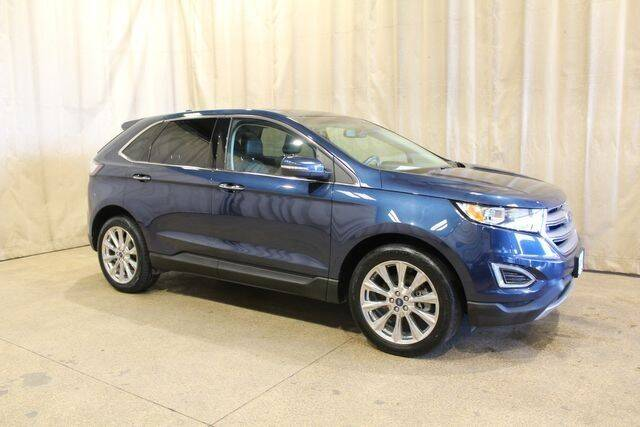 2017 Ford Edge for sale at Autoland Outlets Of Byron in Byron IL