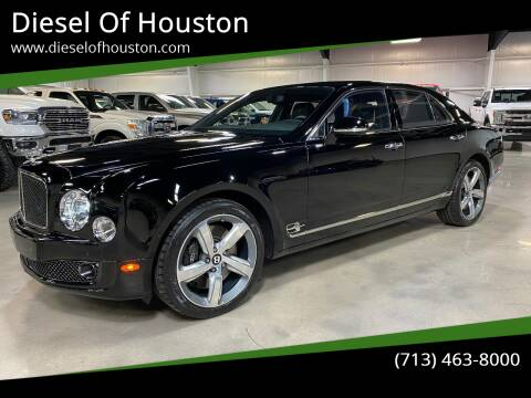 2016 Bentley Mulsanne for sale at Diesel Of Houston in Houston TX