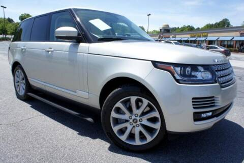 2013 Land Rover Range Rover for sale at CU Carfinders in Norcross GA