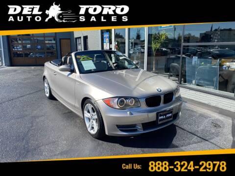 2008 BMW 1 Series for sale at DEL TORO AUTO SALES in Auburn WA