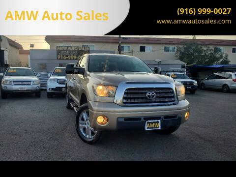 2007 Toyota Tundra for sale at AMW Auto Sales in Sacramento CA