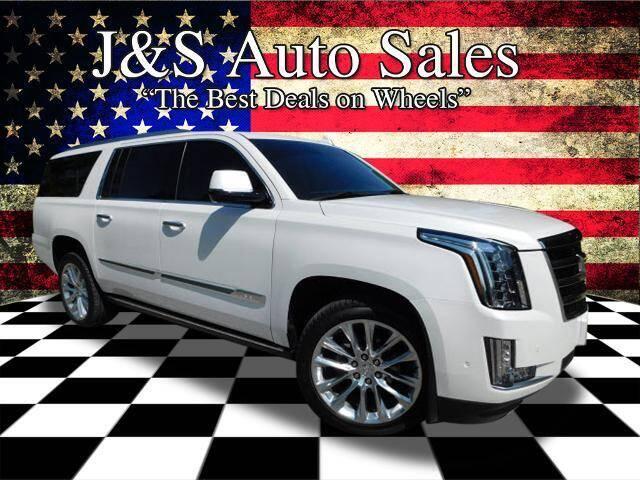 2018 Cadillac Escalade ESV for sale at J & S Auto Sales in Clarksville TN