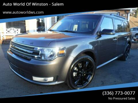 2019 Ford Flex for sale at Auto World Of Winston - Salem in Winston Salem NC