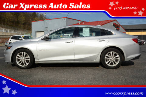 2018 Chevrolet Malibu for sale at Car Xpress Auto Sales in Pittsburgh PA