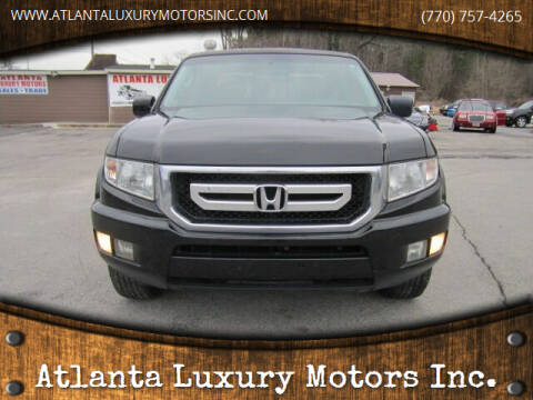 2010 Honda Ridgeline for sale at Atlanta Luxury Motors Inc. in Buford GA
