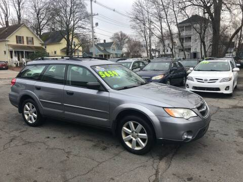 2008 Subaru Outback for sale at Emory Street Auto Sales and Service in Attleboro MA