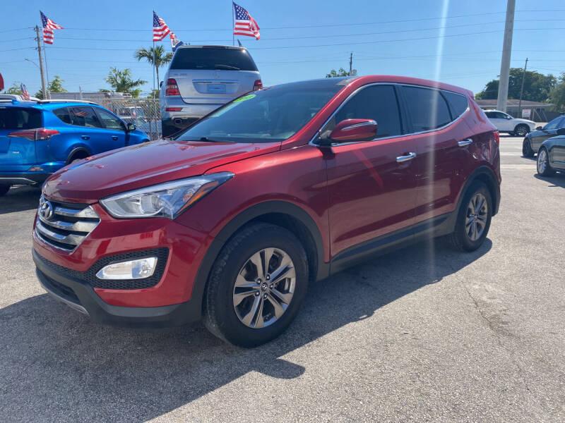 2013 Hyundai Santa Fe Sport for sale at INTERNATIONAL AUTO BROKERS INC in Hollywood FL