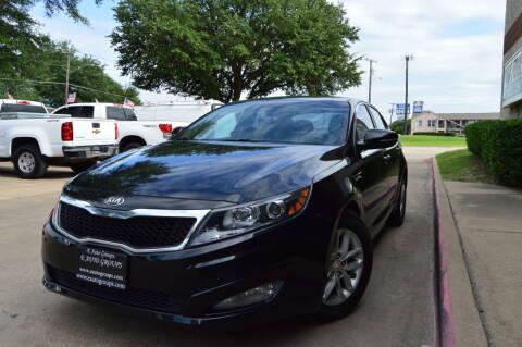 2013 Kia Optima for sale at E-Auto Groups in Dallas TX