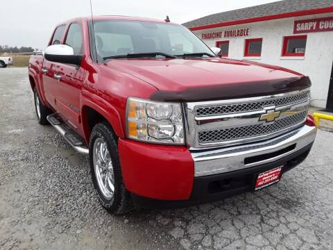 2009 Chevrolet Silverado 1500 for sale at Sarpy County Motors in Springfield NE
