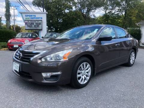 2014 Nissan Altima for sale at Sports & Imports in Pasadena MD