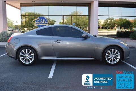 2014 Infiniti Q60 Coupe for sale at GOLDIES MOTORS in Phoenix AZ