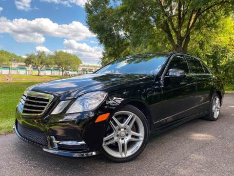 2013 Mercedes-Benz E-Class for sale at Powerhouse Automotive in Tampa FL