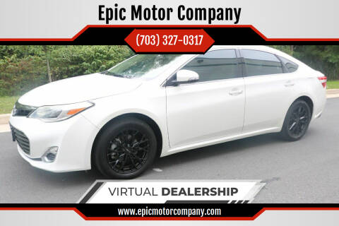 2013 Toyota Avalon for sale at Epic Motor Company in Chantilly VA