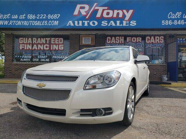 2010 Chevrolet Malibu for sale at R Tony Auto Sales in Clinton Township MI