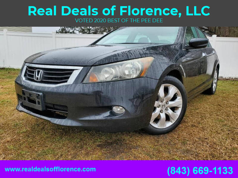 2009 Honda Accord for sale at Real Deals of Florence, LLC in Effingham SC