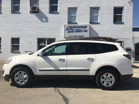 2013 Chevrolet Traverse for sale at Lightning Auto Sales in Springfield IL