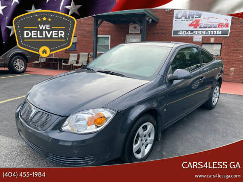 2009 Pontiac G5 for sale at Cars4Less GA in Alpharetta GA