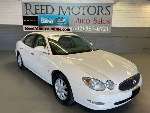 2006 Buick LaCrosse for sale at REED MOTORS LLC in Phoenix AZ