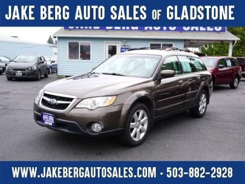 2008 Subaru Outback for sale at Jake Berg Auto Sales in Gladstone OR