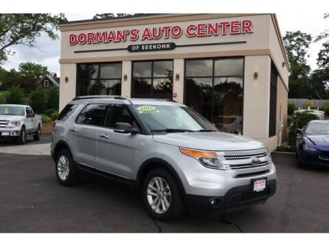 2014 Ford Explorer for sale at DORMANS AUTO CENTER OF SEEKONK in Seekonk MA