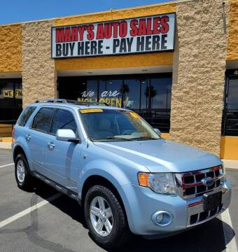 2008 Ford Escape Hybrid for sale at Marys Auto Sales in Phoenix AZ