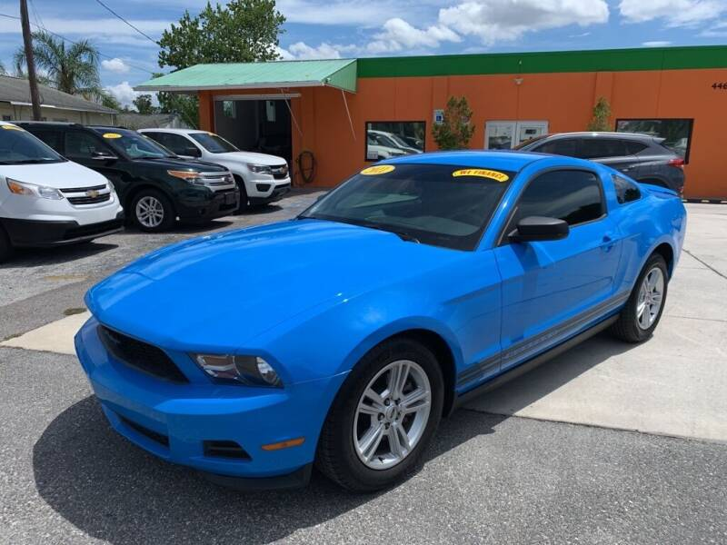 2011 Ford Mustang for sale at Galaxy Auto Service, Inc. in Orlando FL