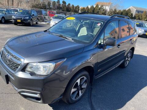 2017 Subaru Forester for sale at KINGSTON AUTO SALES in Wakefield RI