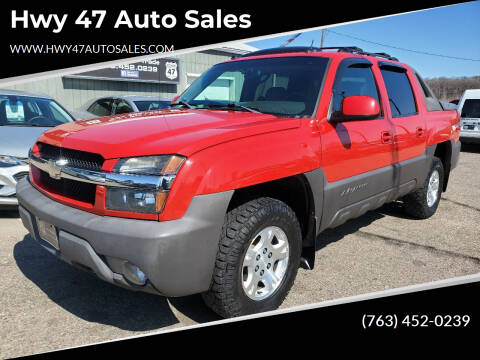 2004 Chevrolet Avalanche for sale at Hwy 47 Auto Sales in Saint Francis MN