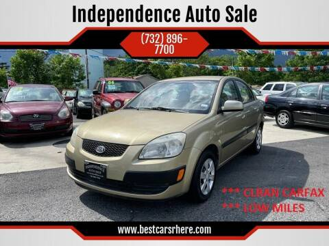 2008 Kia Rio for sale at Independence Auto Sale in Bordentown NJ