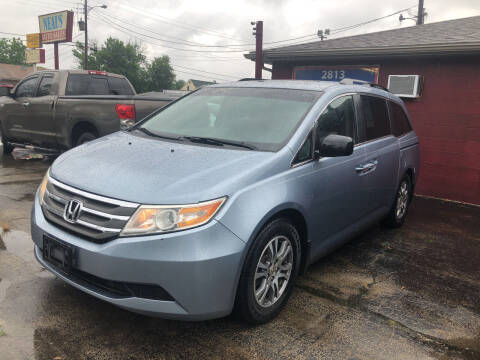 2012 Honda Odyssey for sale at Neals Auto Sales in Louisville KY