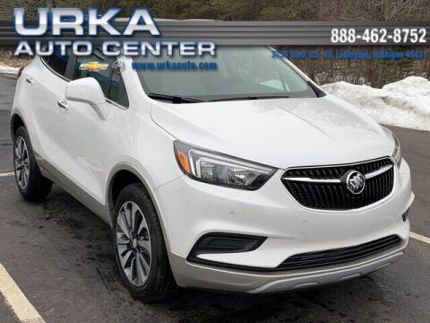 2021 Buick Encore for sale at Urka Auto Center in Ludington MI