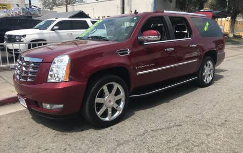 2009 Cadillac Escalade for sale at LA PLAYITA AUTO SALES INC - 3271 E. Firestone Blvd Lot in South Gate CA