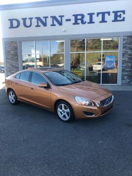 2012 Volvo S60 for sale at Dunn-Rite Auto Group in Kilmarnock VA