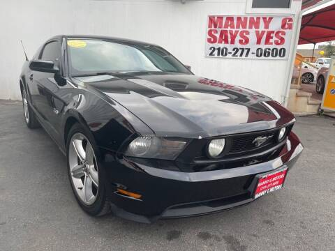 2012 Ford Mustang for sale at Manny G Motors in San Antonio TX
