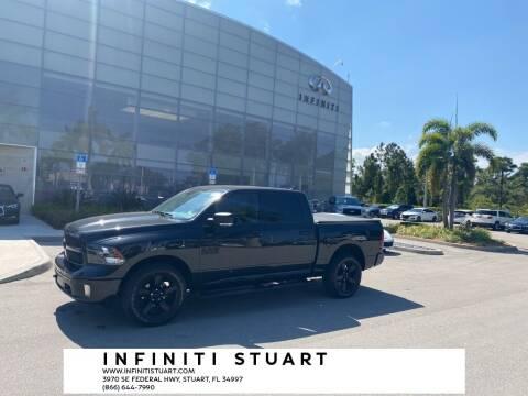 2018 RAM Ram Pickup 1500 for sale at Infiniti Stuart in Stuart FL