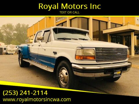 1994 Ford F-350 for sale at Royal Motors Inc in Kent WA